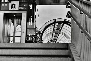 Bahnhof Hoorn von Yolande Mulder