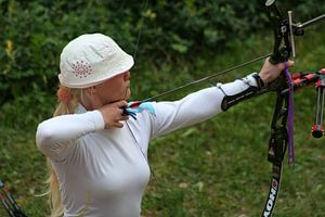 Libertypark Archery tournament 2 van Tim Buitenhuis
