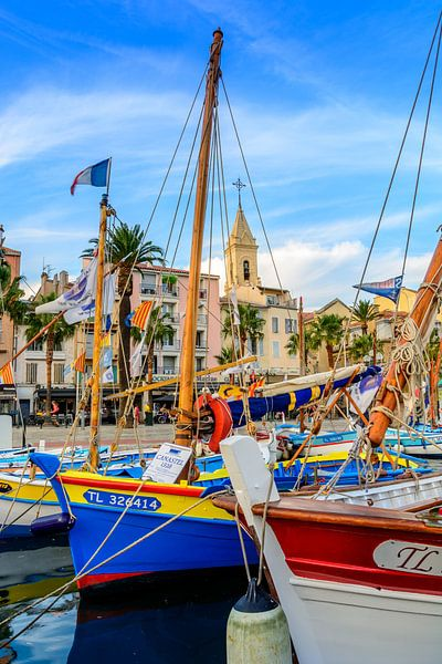 Haven van Sanary-sur-Mer, Var, Frankrijk sur 7Horses Photography