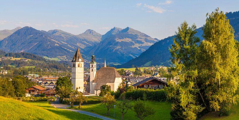Kitzbühel at Tyrol in Austria van Werner Dieterich