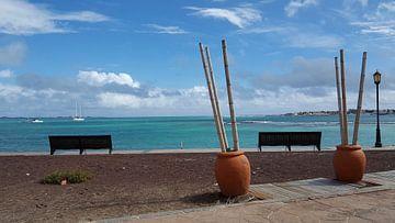 Perfect uitzicht over de turquoise Atlantische Oceaan von Mireille Zoet