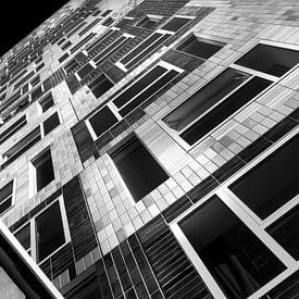 Universiteit Utrecht Studentenhuis Johanna in zwartwit - Student housing Utrecht Universityt van Marianne van der Zee