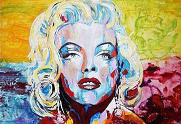 "Marilyn Monroe ""Spontan"" von Kathleen Artist Fine Art"