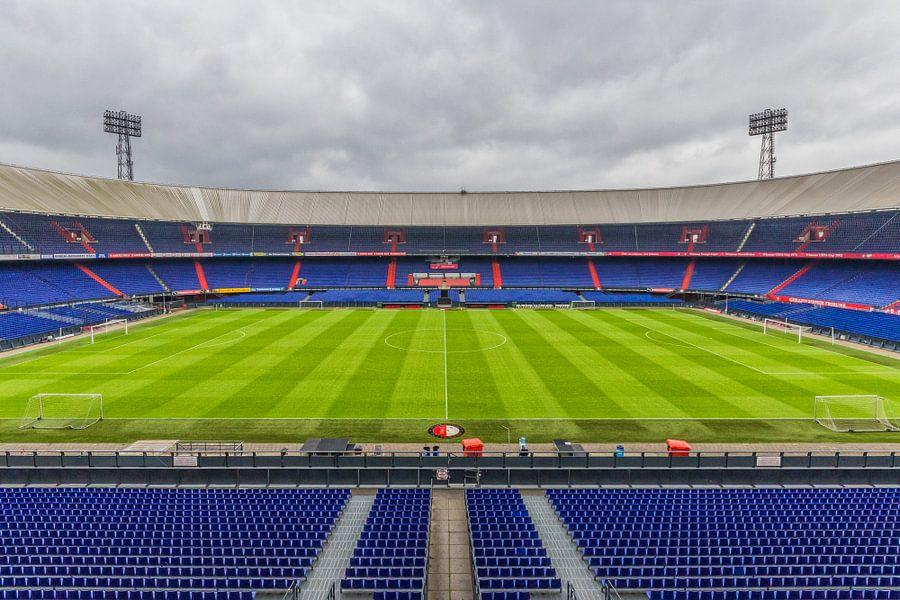 De Kuip vanaf de bovenste ring | Feyenoord Rotterdam van Tux Photography