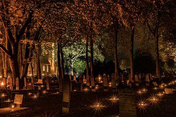 Lichtjesavond bij de Jacobuskerk in Rolde van Fred van Bergeijk