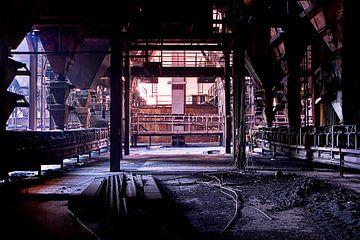 Stahlindustrie Belgien von Henk Elshout