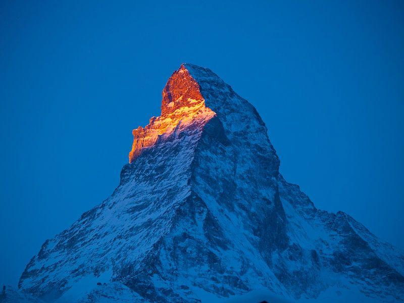 De Matterhorn bij zonsopgang van Menno Boermans