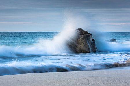 golven rots zee
