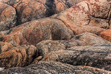 Rotsformatie in Australië van Coos Photography