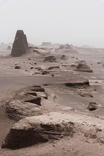 Zandkastelen in de woestijn | Iran
