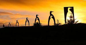 Pinguïns kerstboom van