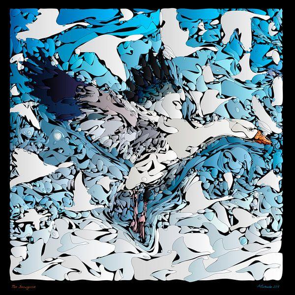 Die Schneegans von Martin Melis