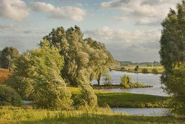 Oude-IJssel bij Zutphen van Afke van den Hazel