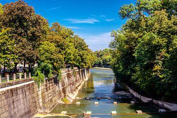 DE - Bavaria : Isar canal von Michael Nägele