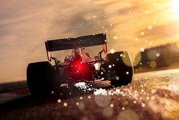 Max Verstappen RB16 - RedBull Racing F1 sur Kevin Baarda