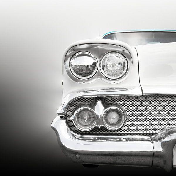 Voiture classique américaine 1958 Bel Air sur Beate Gube