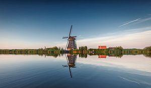 Kinderdijk rietgedekte achtkanter Nederland
