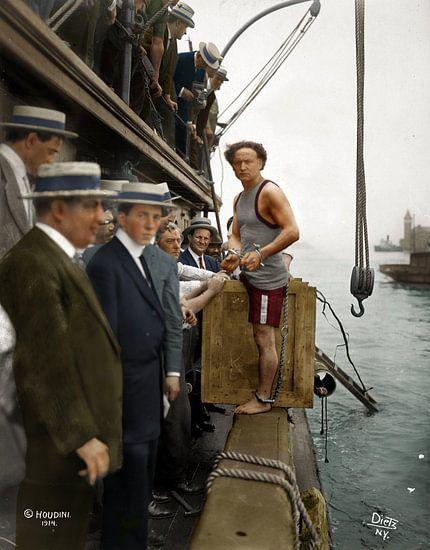 Harry Houdini, 1914