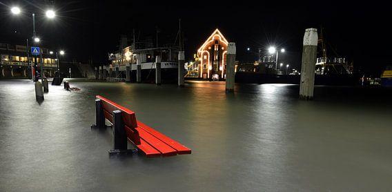 Hoogwater Oudeschild Texel