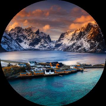 Lofoten panorama van Sven Broeckx