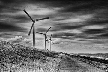 Windturbines von Jos Reimering