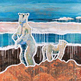 Croire les ours polaires sur ART Eva Maria
