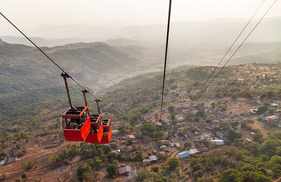 Ropeway to Raigad Fort