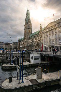 Das Rathaus von Hamburg von Jens Sessler