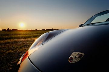 Porsche Boxter bei Sonnenuntergang von paul snijders