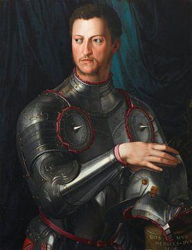 Cosimo I de' Medici in Rüstung, Bronzino