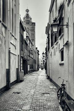 Hekelsteeg en Buurkerk in Utrecht.  (Utrecht2019@40mm nr 6) van De Utrechtse Grachten
