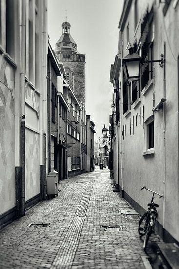 Hekelsteeg en Buurkerk in Utrecht.  (Utrecht2019@40mm nr 6)