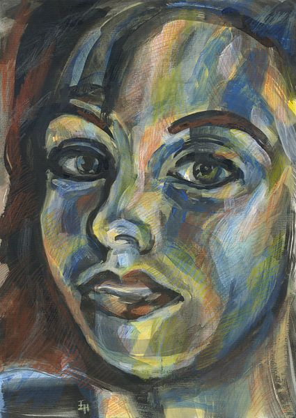 Warme vrouw van ART Eva Maria