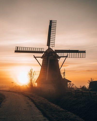 Molen Koningslaagte, Groningen, Nederland