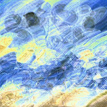 Pinselstriche XXIII von Maurice Dawson