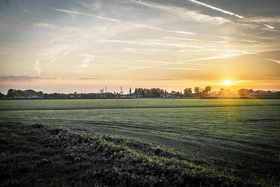 Zonsondergang van Jaap Burggraaf