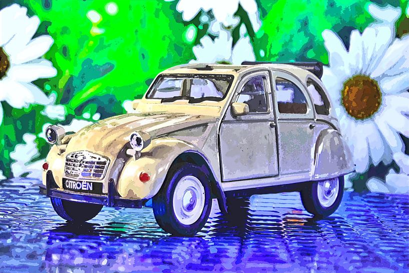 Döschwo alias Ente: der Citroën 2CV von Jean-Louis Glineur alias DeVerviers
