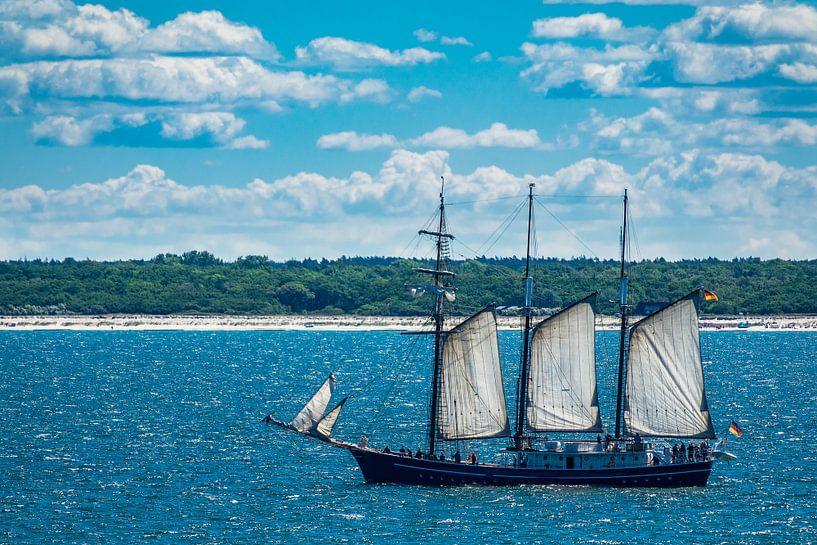 Ein Segelschiff auf der Ostsee  von Rico Ködder