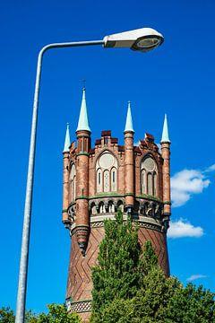 Water tower in Rostock van Rico Ködder