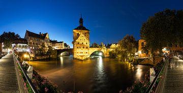 Bamberg Panorama Oud stadhuis van Frank Herrmann
