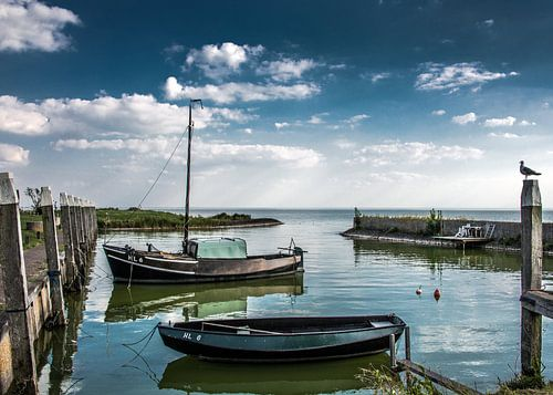 Hafen Laaxum von Harrie Muis