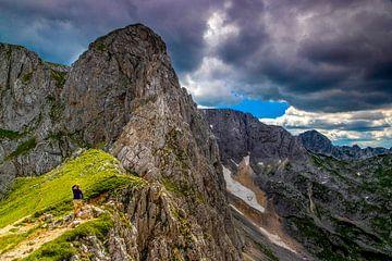 Wandelen door de bergen van Antwan Janssen