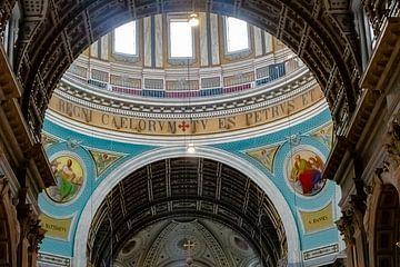 De Basiliek van de Heiligen Agatha van Truckpowerr