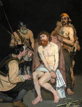 Jesus verspottet von den Soldaten, Édouard Manet