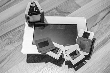 Een digitale fotolijst, een kijkkast, fotolijst van Norbert Sülzner