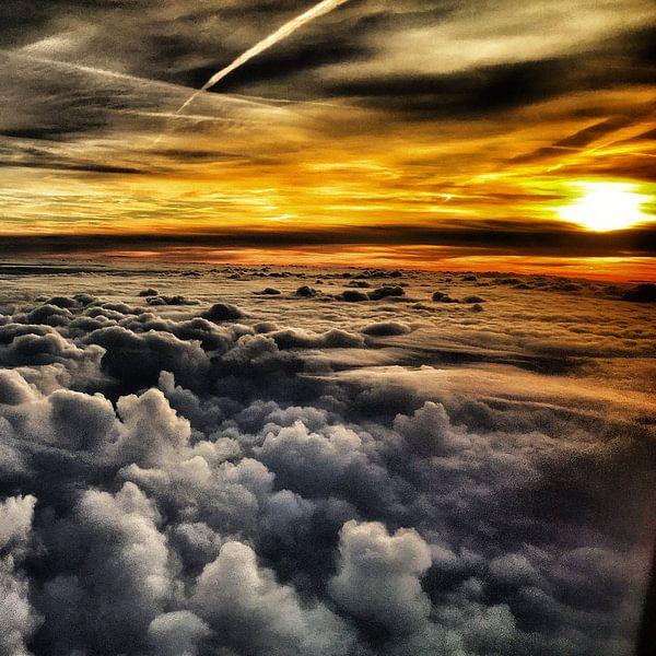 Boven de wolken van SPOOR Spoor