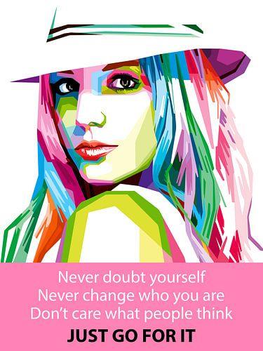 Pop Art Britney Spears von