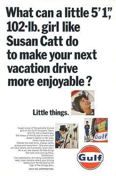 Gulf reclame 60s van Jaap Ros