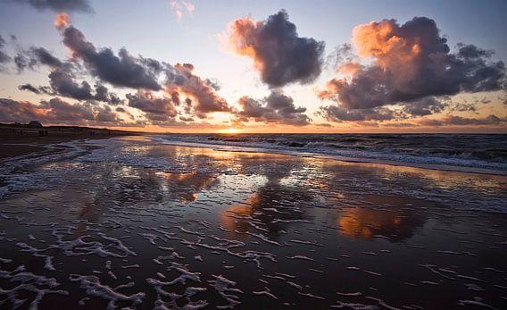 clouds above the sea van Dirk van Egmond