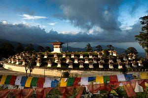 Bhutan Dochula Chorten